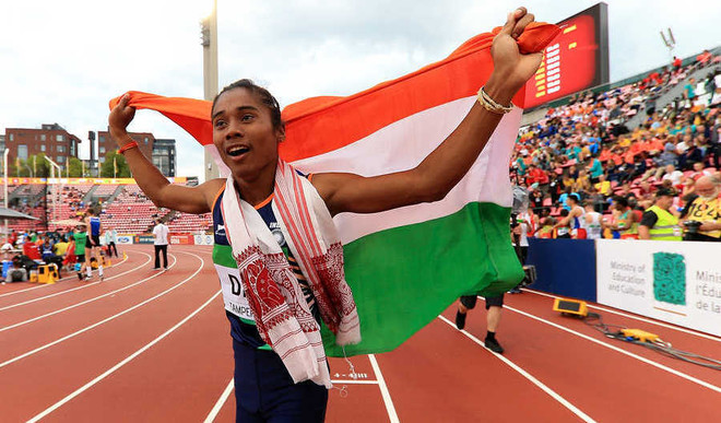 Outstanding: Hima Das Grabs 5th Gold In July