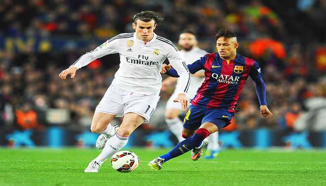 Bale To Make Way For Neymar At Real?