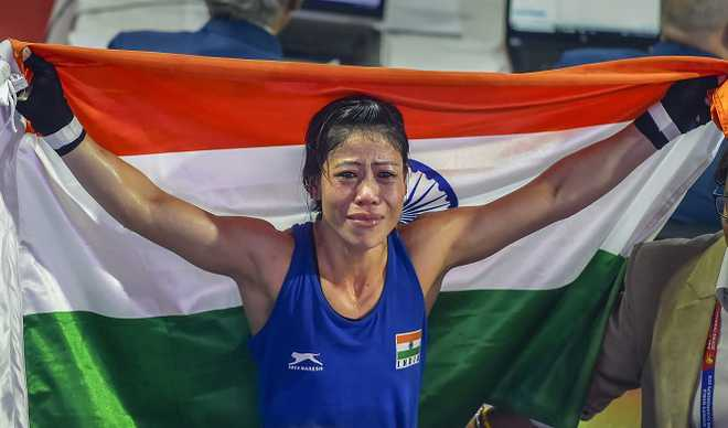 Mary Kom Wins Gold Ahead Of WC