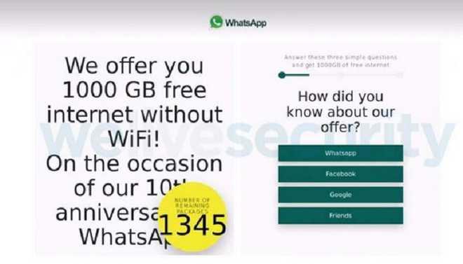 Beware Of WhatsApp 'Happy B'day Scam'