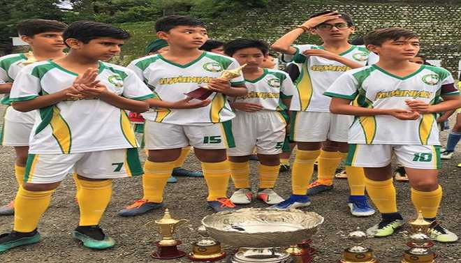 Budding Footballers Win Gold