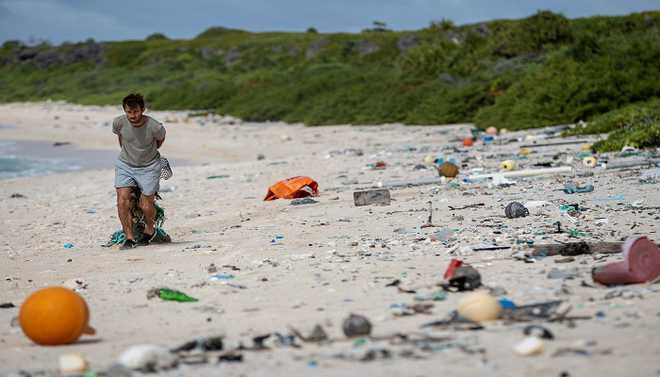 Pacific Paradise Buried Under Plastic
