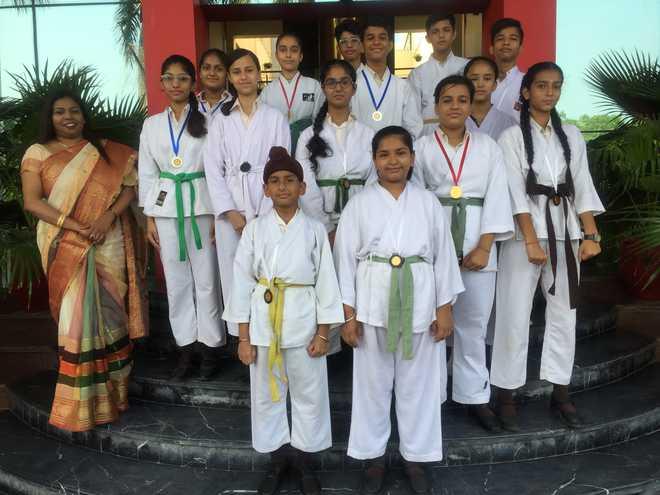 Mount Carmel Karate Champs Bag Medals In Championship