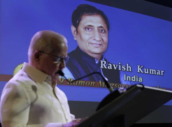Ravish Kumar wins Ramon Magsaysay Award