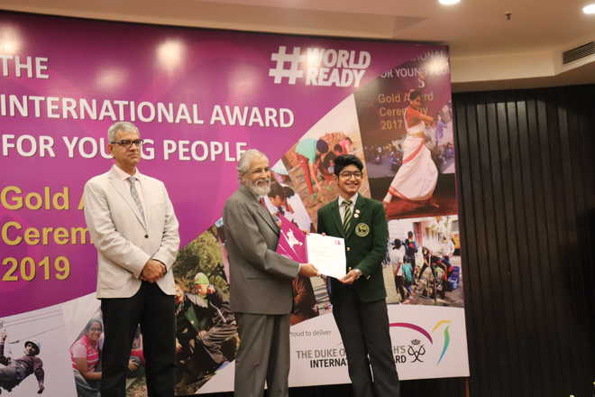 Students Receive Prestigious IAYP Gold Medals