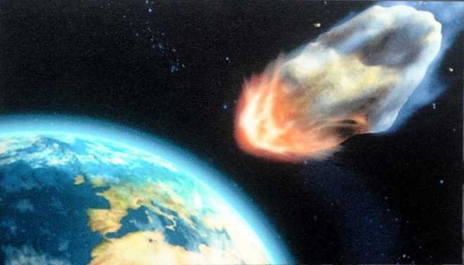 Asteroids May Play Part In Spreading Life