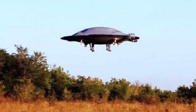 Engineer Builds Real-life UFO