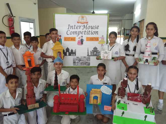 Inter-house Heritage Exhibition Held