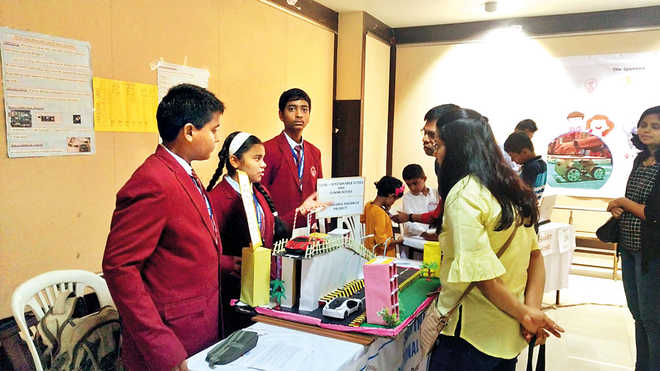 Ashwini Wins Trophy For 'Best School Project'