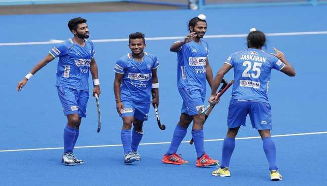 India Hammer NZ To Win Oly Test Event