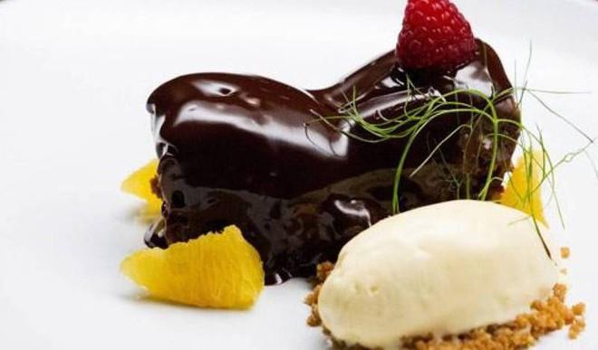 Chocolate-Cardamom-Chilli Dessert