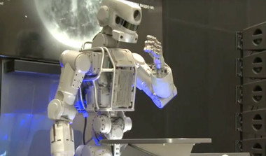 First Russian Humanoid Bot Goes To Space