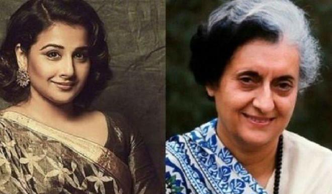 Vidya Reveals About Her Indira Gandhi Biopic