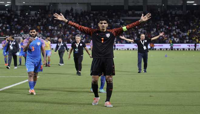 WC Qualifier: India Draw With Asian Champs