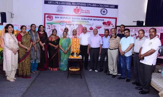 School Organises Blood Donation Camp In Memory Of Jallianwala Bagh Victims