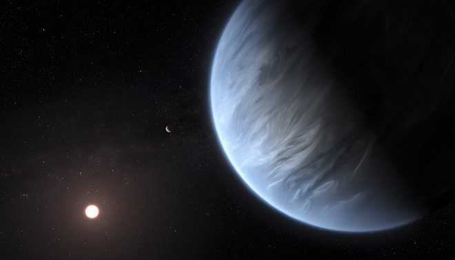 Water Vapour Found On An Exoplanet