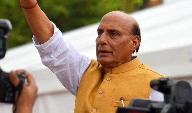 Rajnath Becomes 1st Def Min To Fly In LCA