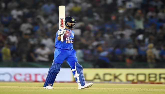 Kohli Leads India Towards Victory