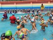 Pool party at Asian International School