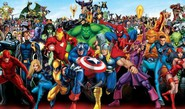 Now, Marvel Superheroes In A Book Format