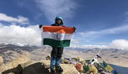 Meet Kaamya, Youngest To Scale 6,262 Mts Peak In Ladakh