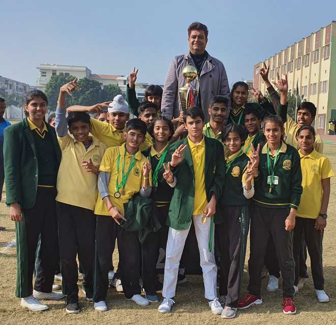 Energetic Satluj Athletes Bag Medals At Sports Day