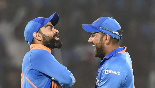 Rohit Named ICC ODI Cricketer Of The Year, Kohli Gets 'Spirit Of Cricket'
