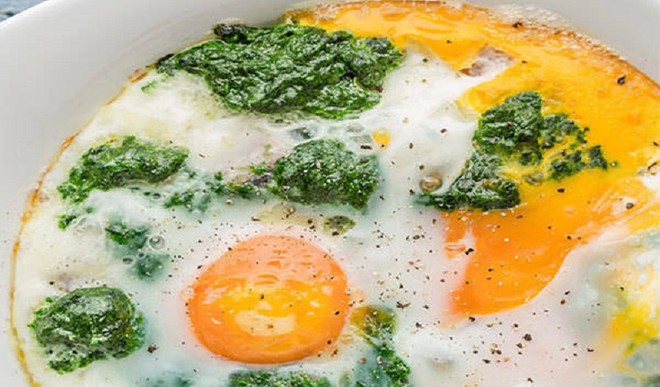 Eggs Florentine For Healthy Eats
