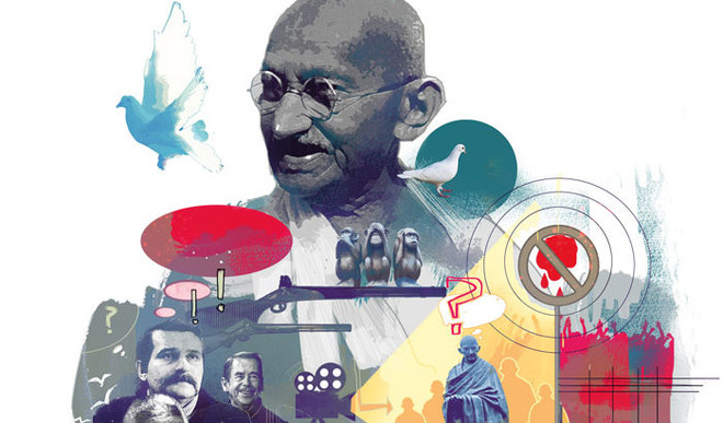 Leaders, Protests And Gandhigiri