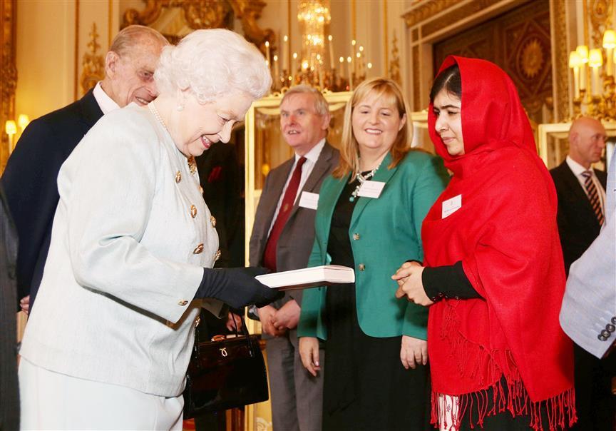Malala Meets Prince Harry, Meghan Virtually