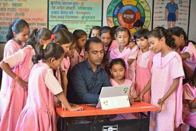 Global Prize: M'rashtra Teacher Among Finalists