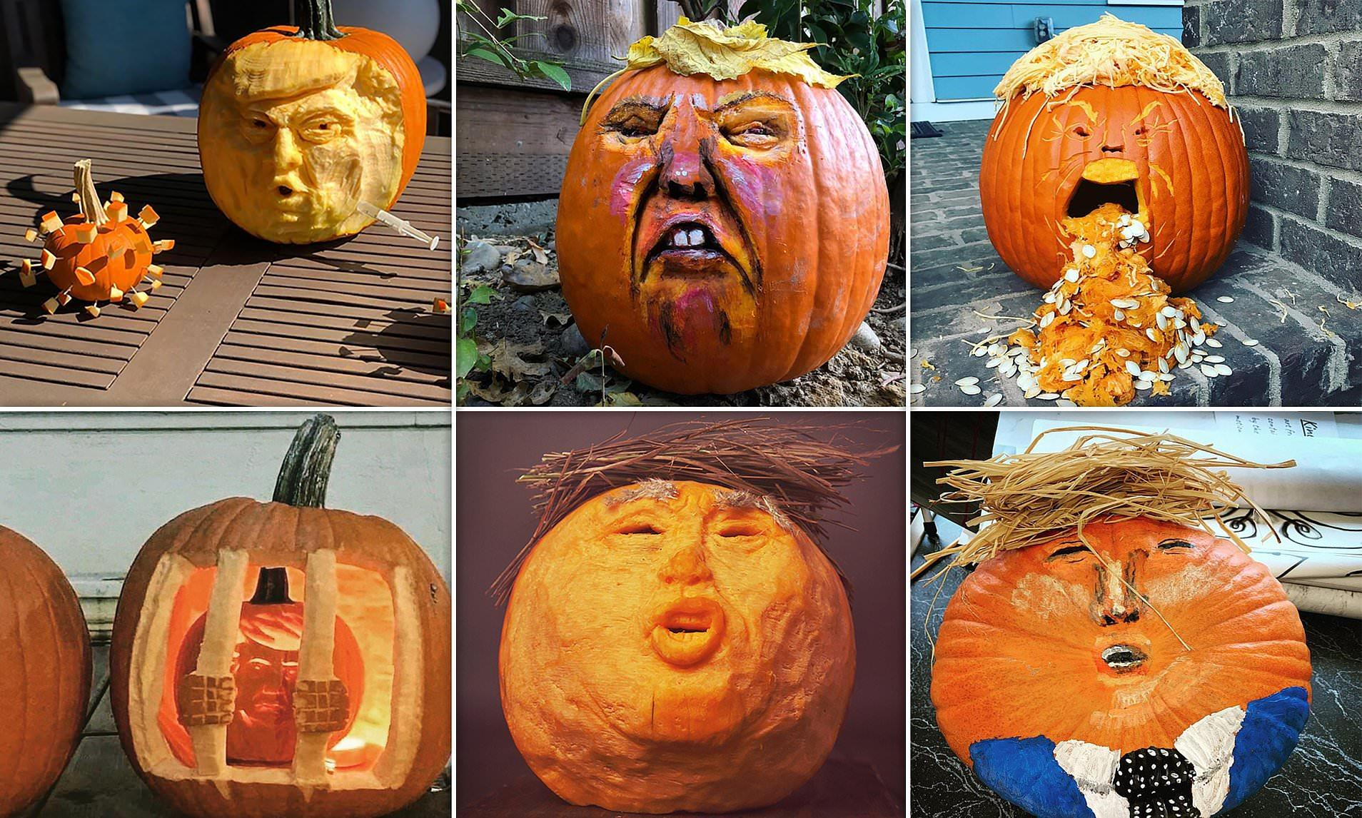 Trumpkins: Gourd, Bad & The Ugly