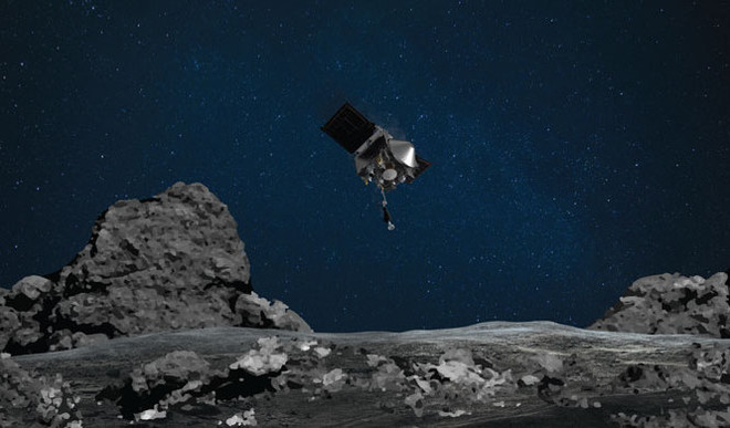 NASA Touched an Asteroid