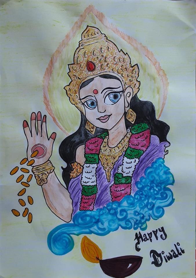 HAPPY DIWALI: Swathi A