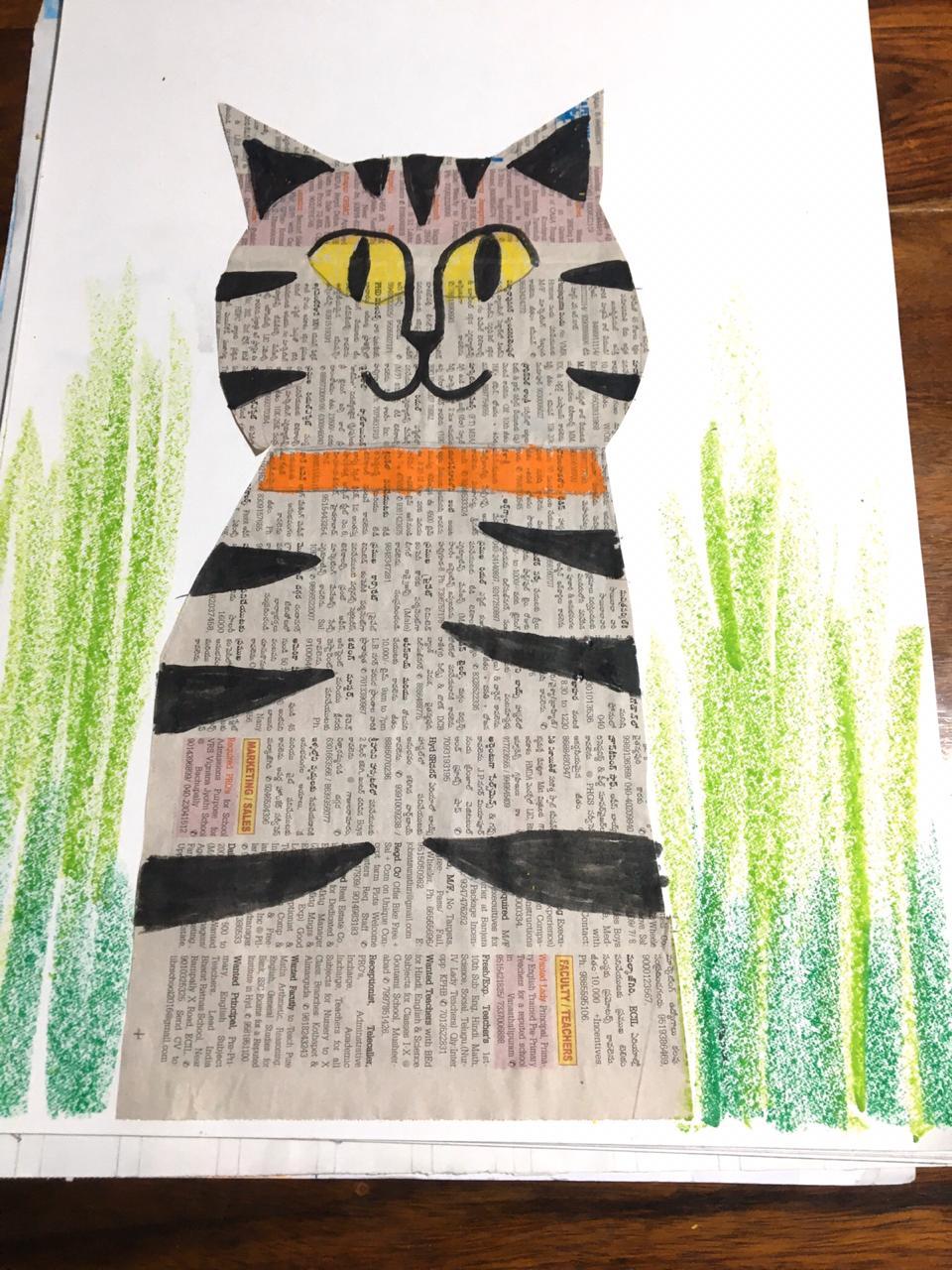 Paper Cat by Kalpin Dhayan Kumar
