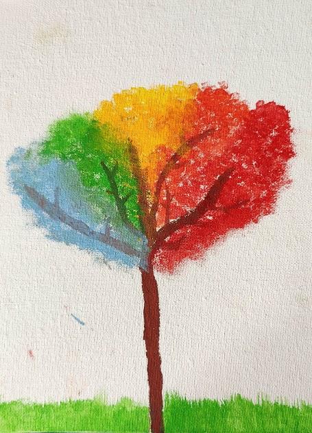 Aashna's Rainbow Tree