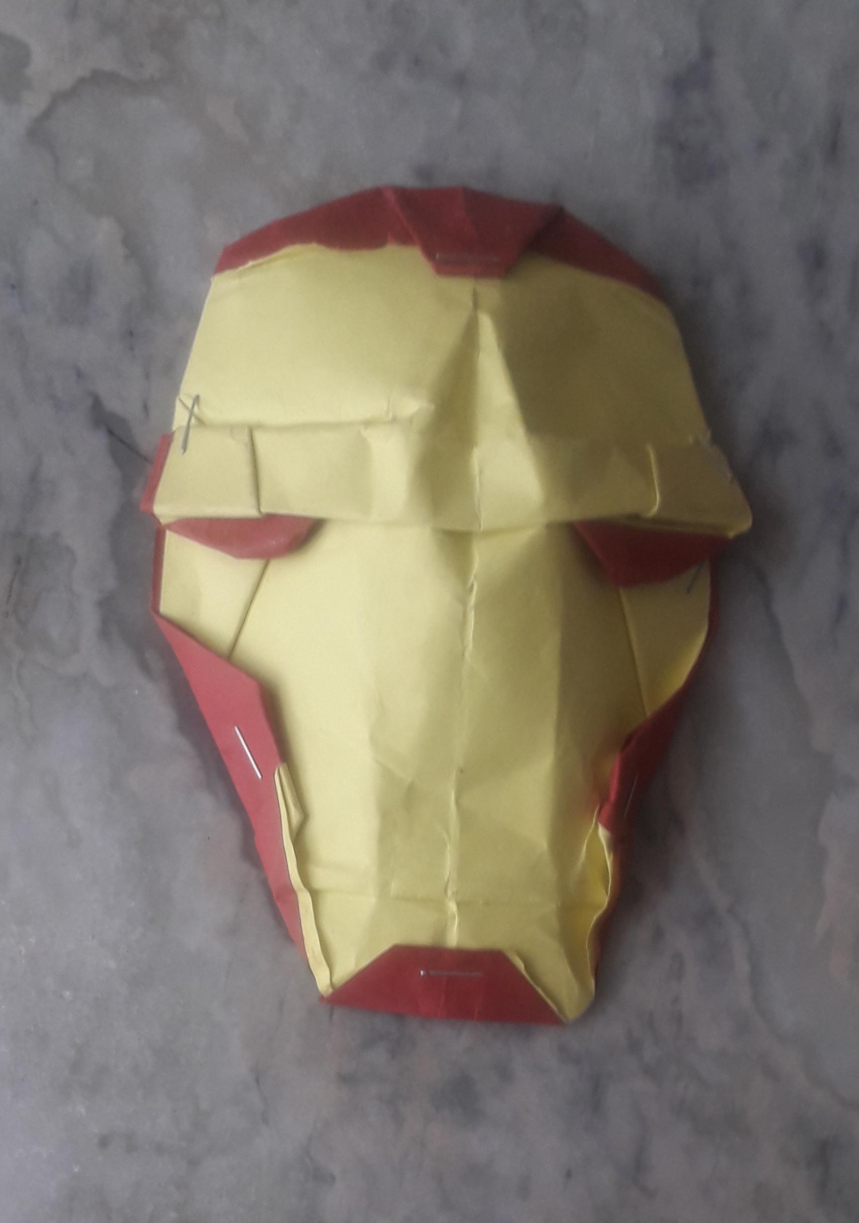Mahadev's Origami Iron Man