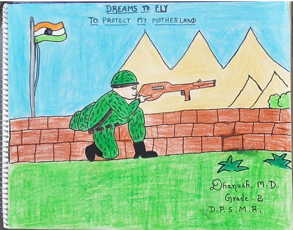 SOLDIER: Dhanush M D