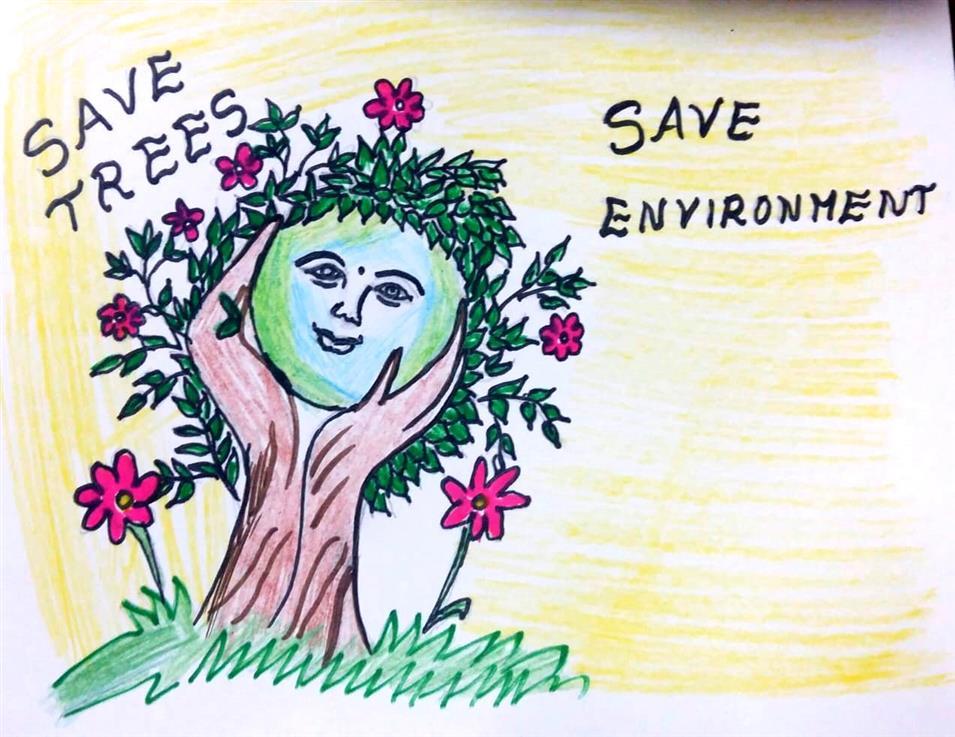 SAVE TREES Rishita Reddy