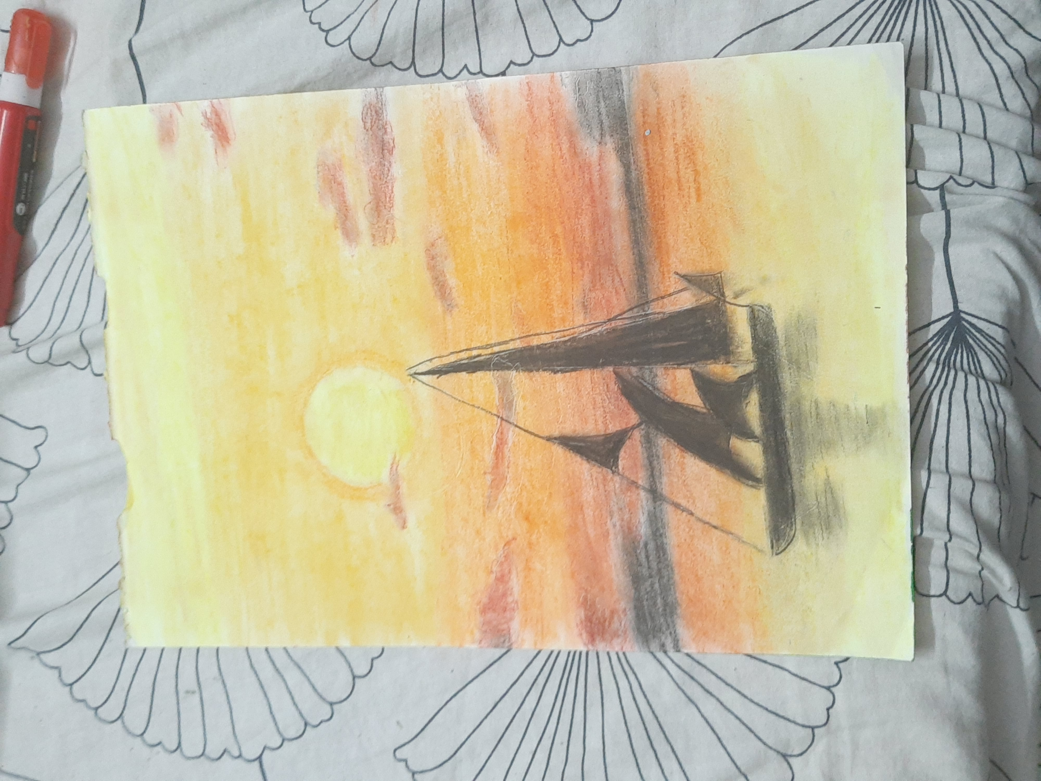 Pastel Color Scenary by Arush Das