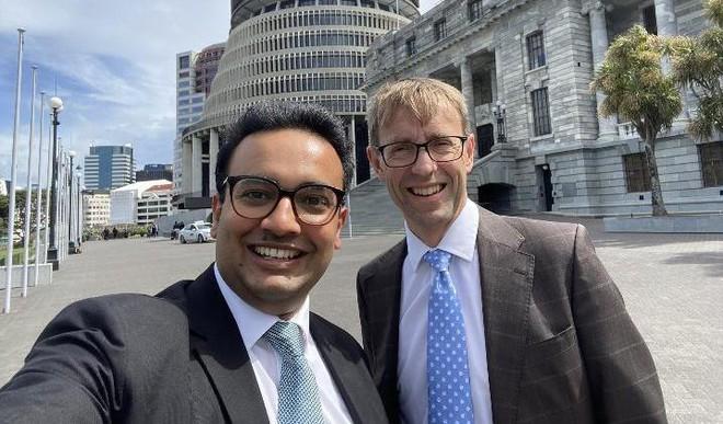 New NZ MP Takes Oath In Sankrit