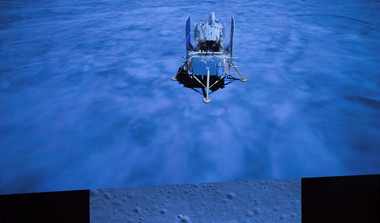 Chinese Probe Lands On Moon