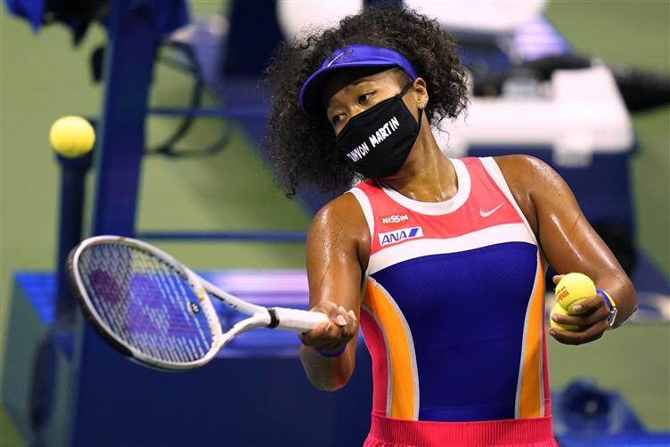 How Putting On Mask Raised Osaka's Voice