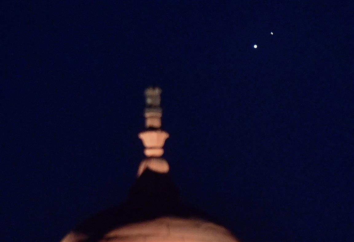 A Date With Jupiter & Saturn