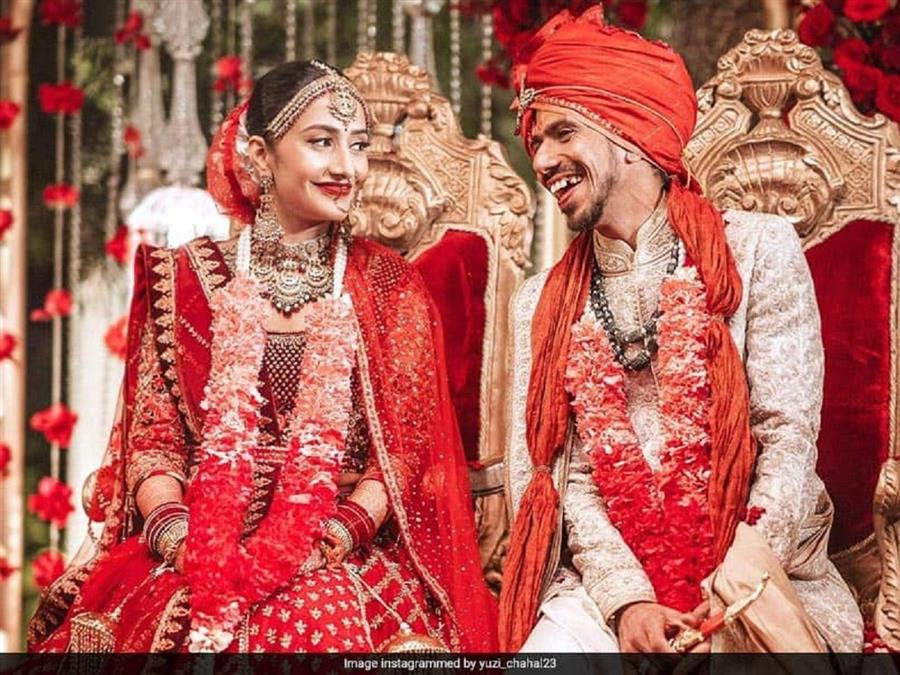 Chahal Ties The Knot With Dhanashree