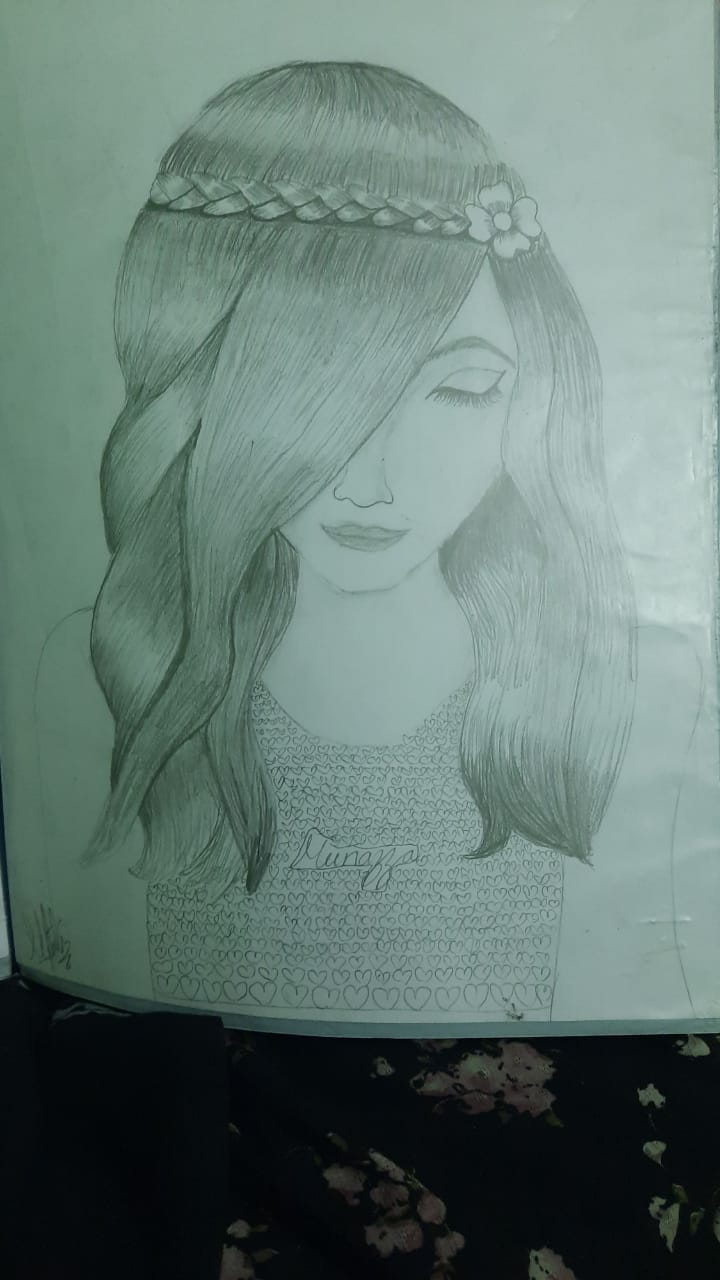 Munazza's Girl Sketch