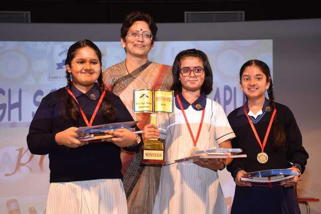 Birla High School Mukundapur hosts  Spellympic 2019