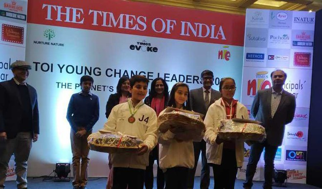 Presenting To You TOI Young Change Leaders