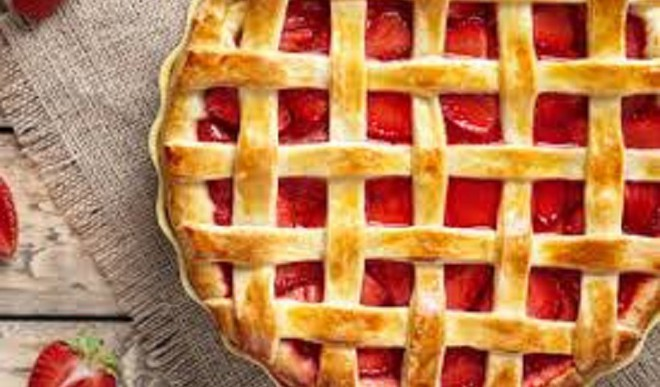Sinful, Delicious Strawberry Pie