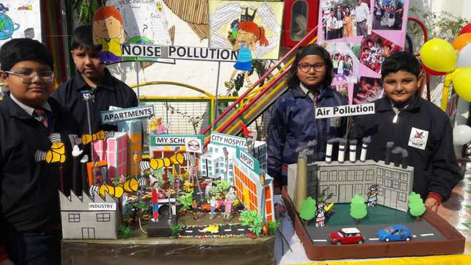 Science Exhibition At The Lucknow Public Collegiate